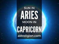 sun in aries moon in capricorn
