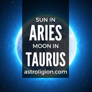 sun in aries moon in taurus