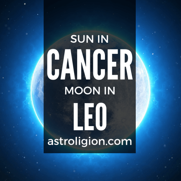 Cancer Sun Leo Moon Personality
