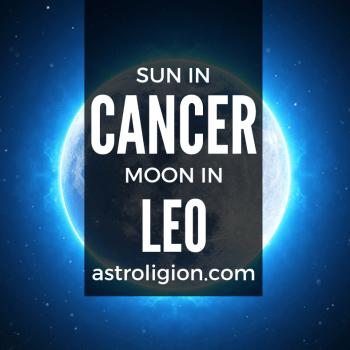 sun in cancer moon in leo