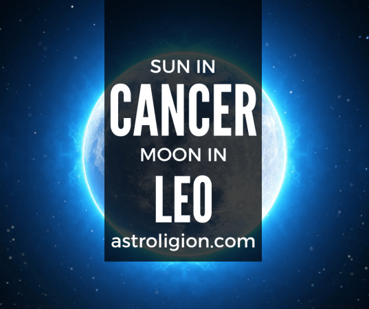 Cancer Sun Leo Moon Personality