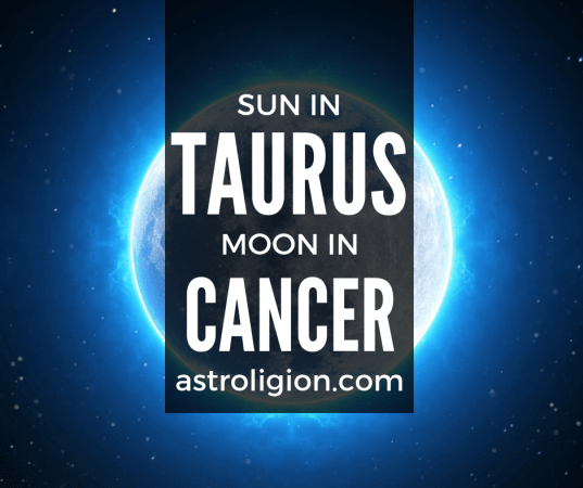 Taurus Sun Cancer Moon Personality