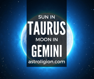 sun in taurus moon in gemini