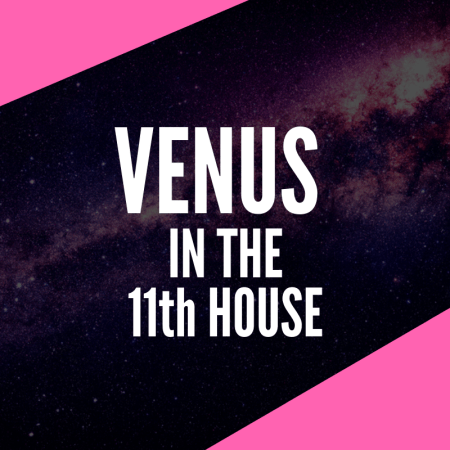 Venus in 11th House – Love of Community and Unity