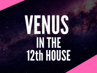 venus in the 12th house