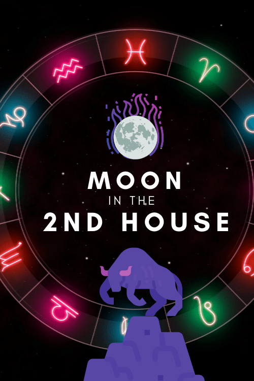 Moon in The 2nd House- Emotional Spender