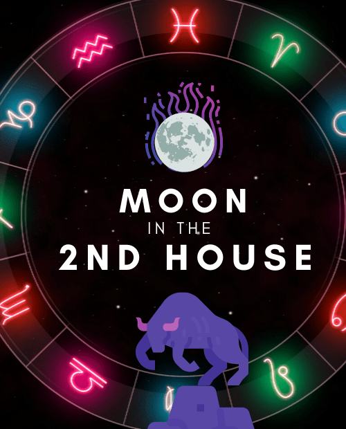 moon in the 2nd house pinterest