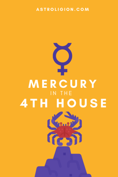 mercury in 4th house pinterest