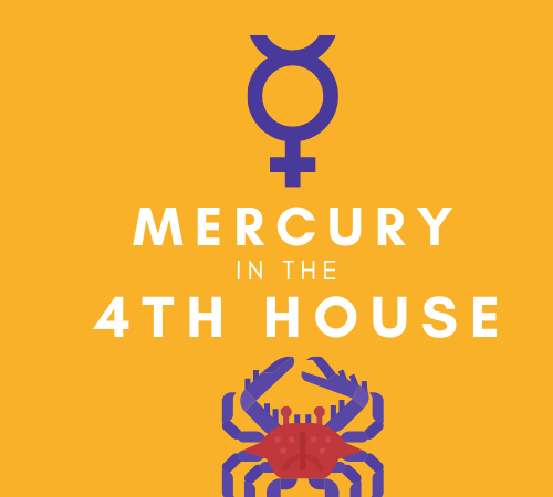 Mercury in the 4th House – Home is where the Mind Is