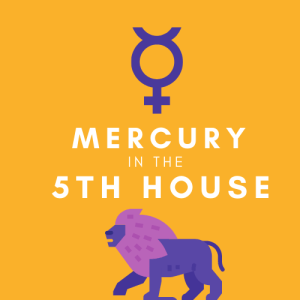 mercury in 5th house pinterest