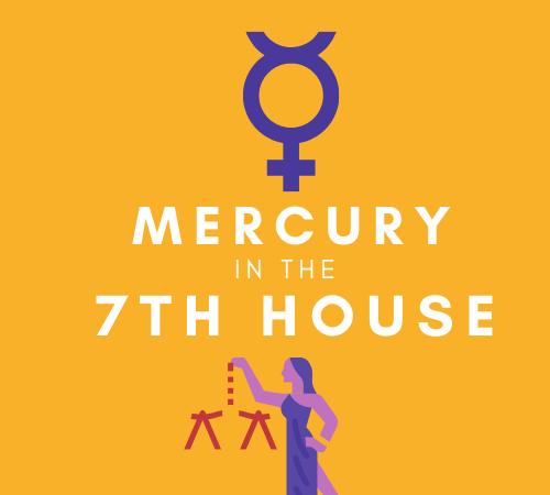Mercury in the 7th House – Communicative Companion