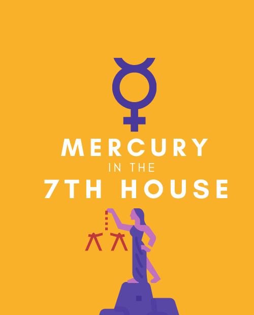 mercury in 7th house pinterest