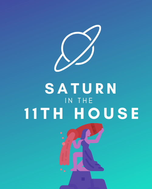 saturn in the 11th house pinterest
