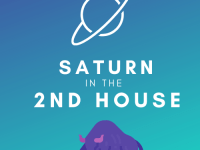 saturn in the 2nd house pinterest