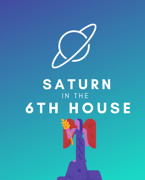 saturn in the 6th house pinterest