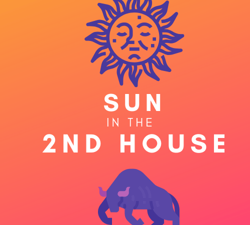 Sun in the 2nd House – Self Investment