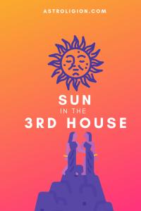 sun in the 3rd house pinterest