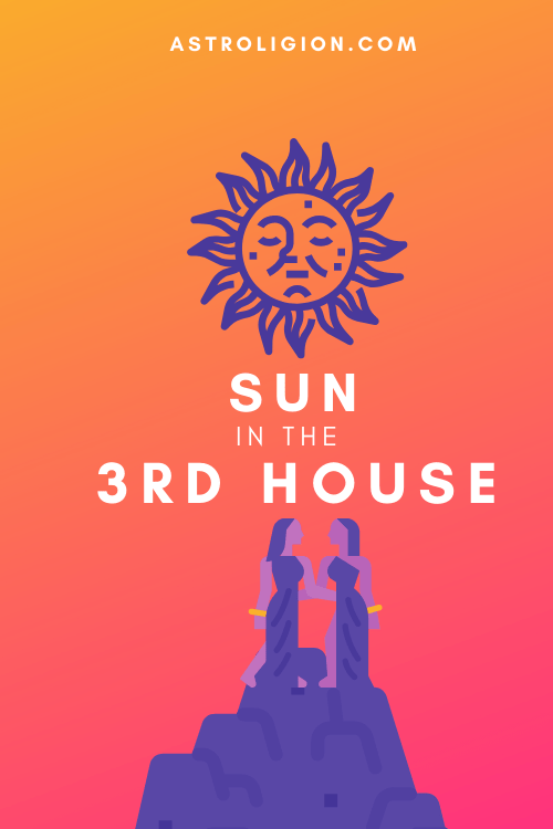 Sun in the 3rd House – Verbosity & Outspokenness