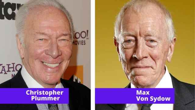 max von sydow and christopher plummer