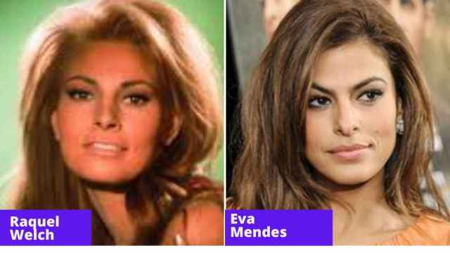 raquel welch and eva mendes