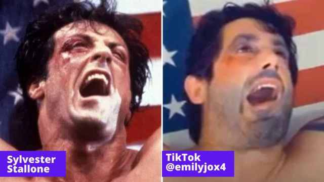sylvester stallone and emilyjox4