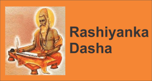 Method of Calculating Rashiyanka Dasha