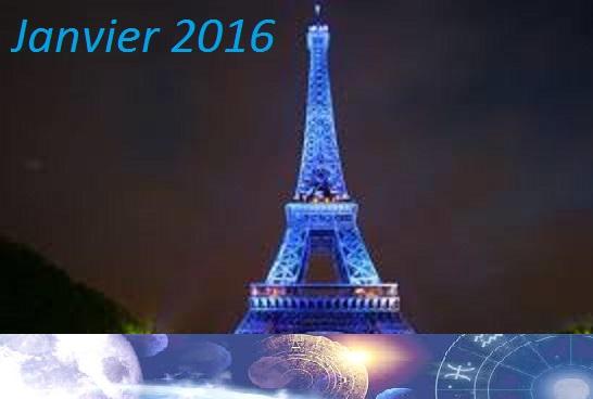 Programme Astrologie Janvier 2016 à Paris