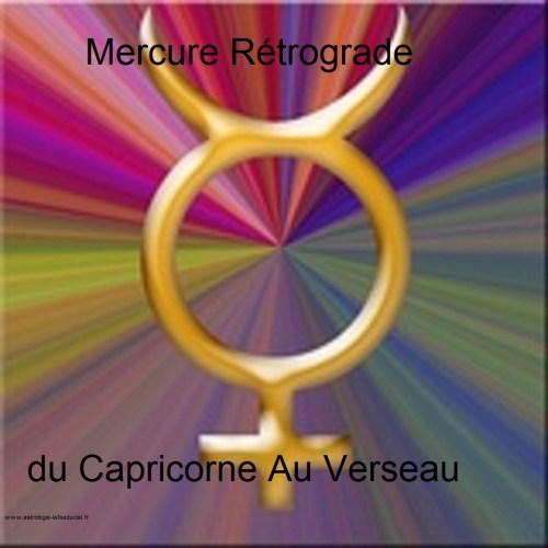 Mercure Rétrograde du Capricorne au Verseau