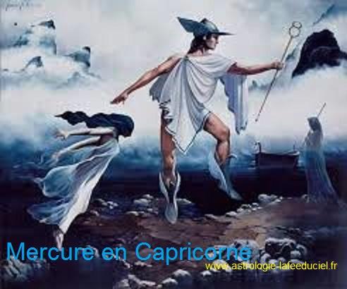 Mercure revient en phase directe dans le signe du Capricorne