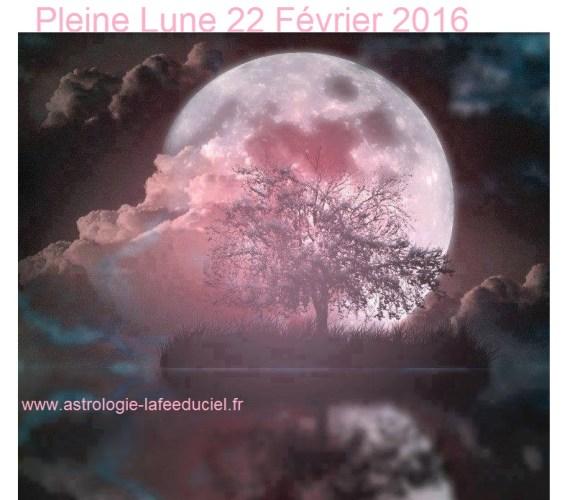 Pleine Lune du 22 Février 2016