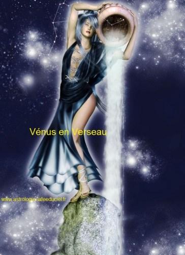 Vénus en Verseau