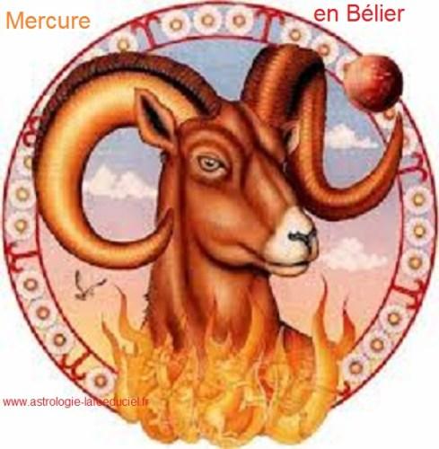 Mercure en Bélier