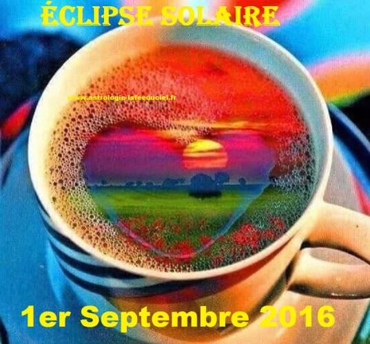 Eclipse Solaire du 1 er Septembre 2016