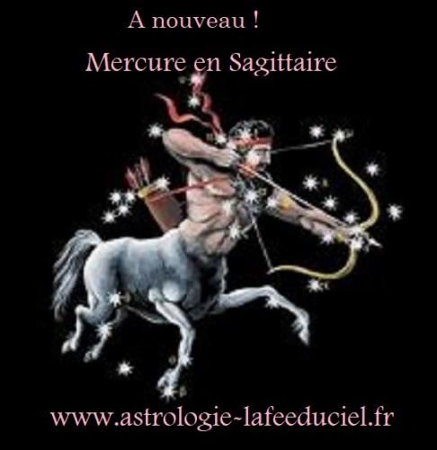 A nouveau ! Mercure en Sagittaire