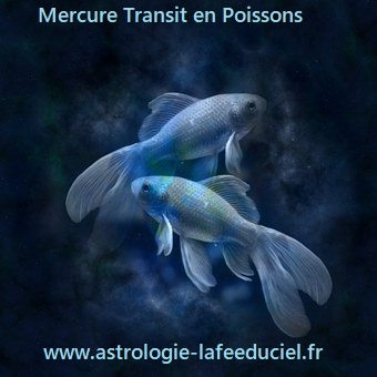 Mercure Transit en Poissons