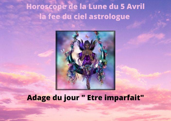 Horoscope de la Lune du 5 Avril 2020
