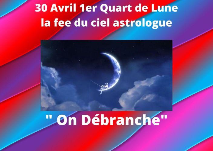 1er Quart de Lune du 30 Avril 2020