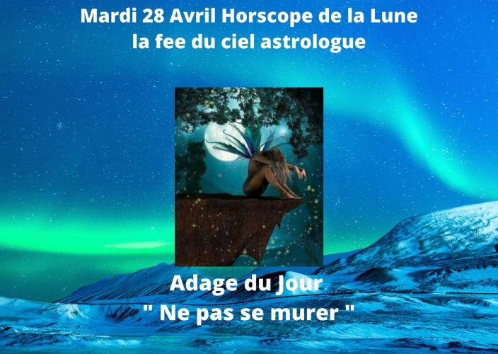 Horoscope de la Lune du 28 Avril 2020