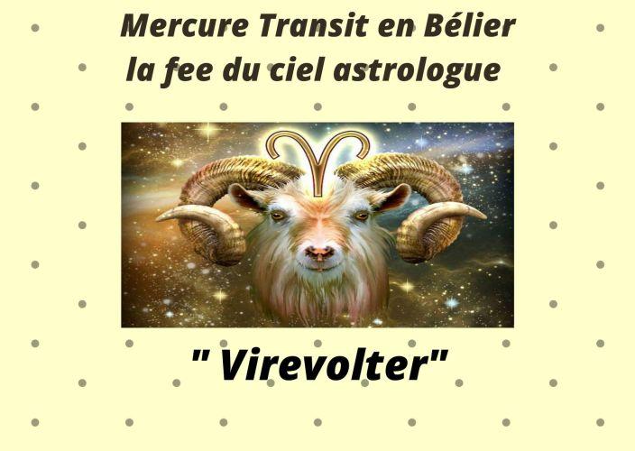 Mercure transit en Bélier