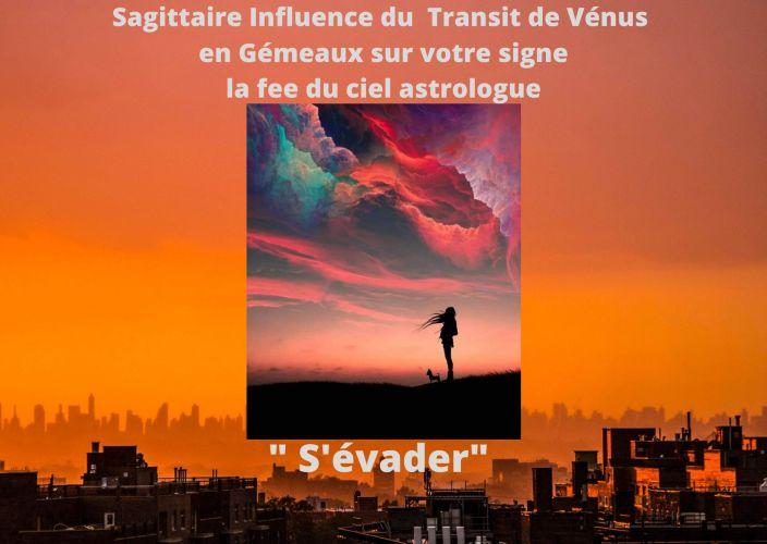 Sagittaire Influence de Vénus en Transit en Gémeaux sur votre signe