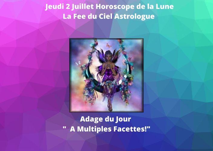 Horoscope de la Lune du 2 Juillet 2020