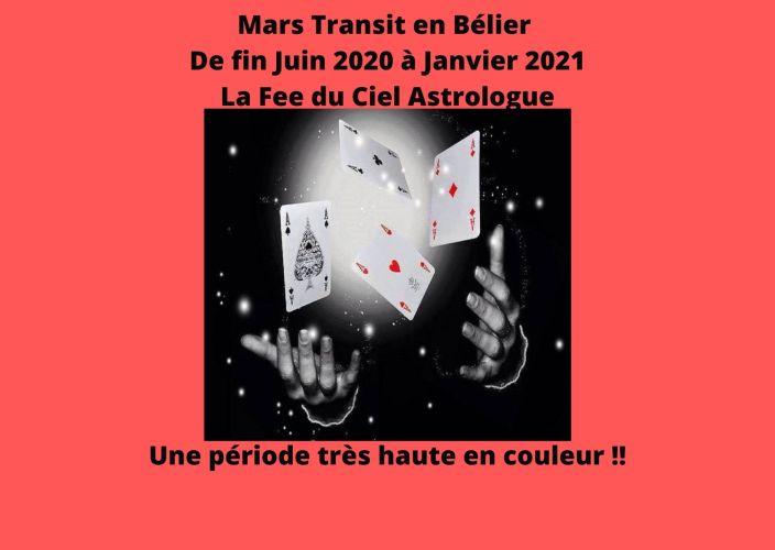 Mars Transit en Bélier