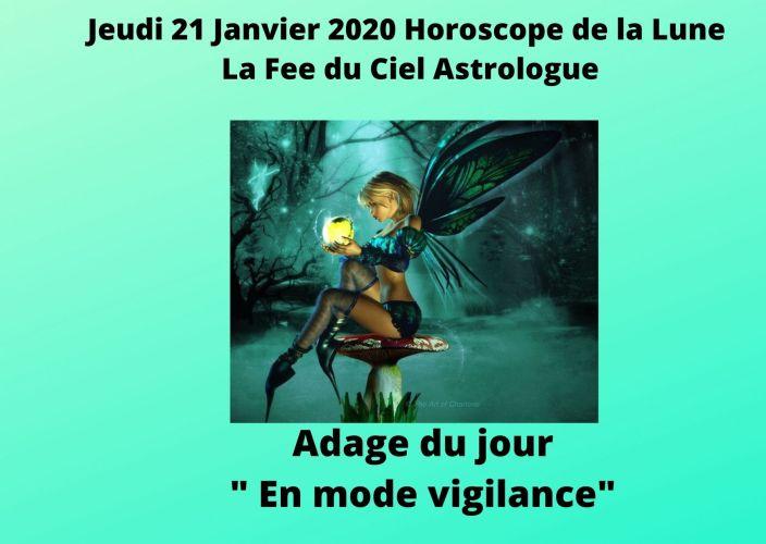 Horoscope de la Lune du 21 Janvier 2021