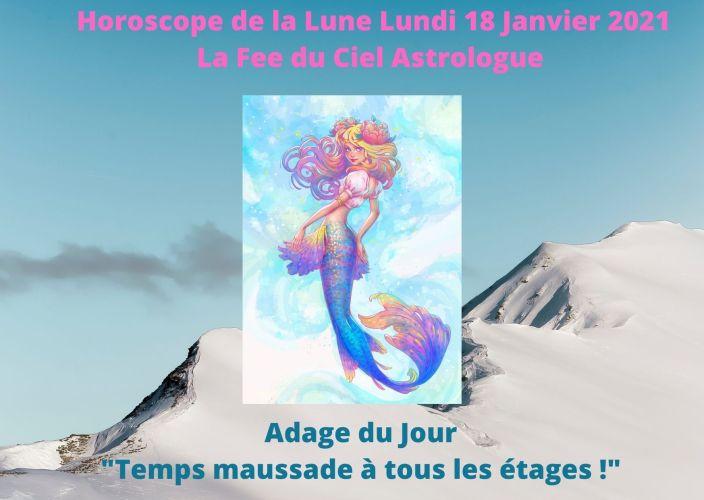 Horoscope de la Lune du 18 Janvier 2021