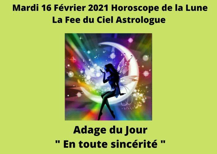Horoscope de la Lune du 16 Février 2021