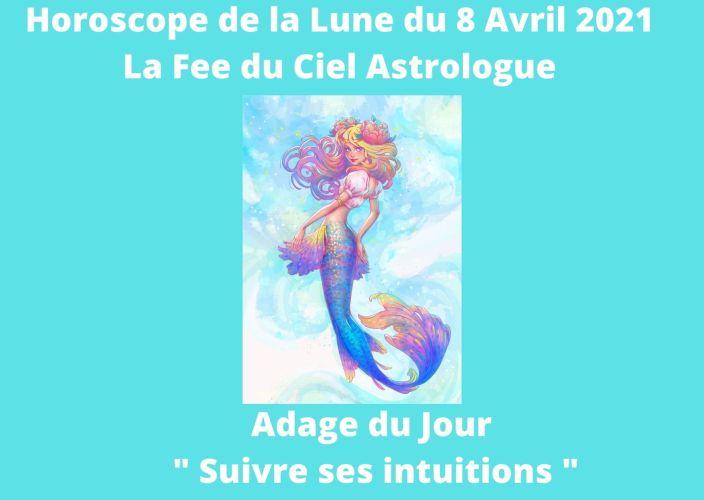 Horoscope de la Lune du 8 Avril 2021