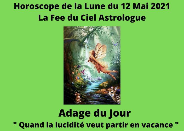 Horoscope de la Lune du 12 Mai 2021