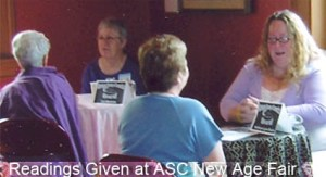 Readings Given at ASC New Age Fair