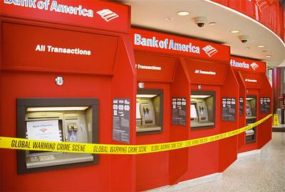 Bank of America Crime Scene