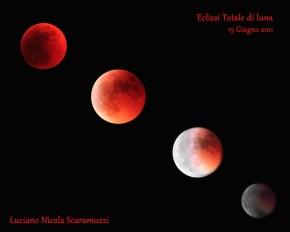 Fasi Eclissi Lunare